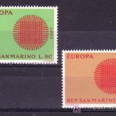 Sellos: SAN MARINO 762/3 SIN CHARNELA, TEMA EUROPA, . Lote 18808378