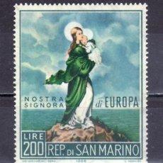 Sellos: SAN MARINO 686 SIN CHARNELA, TEMA EUROPA, VIRGEN DE EUROPA, . Lote 18809103