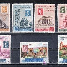 Sellos - san marino 472/8 sin charnela, centenario del sello de sicilia - 39791783