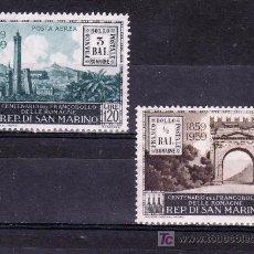Sellos - san marino 471, a119 sin charnela, centenario del sello de romagne - 18835096