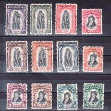 Sellos: SAN MARINO 193/204 USADA, CENTENARIO MUERTE DEL HISTORIADOR MELCHIOR DELFICO. Lote 21403051