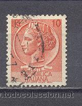 ITALIA- 1953-54- YVERT TELLIER 649 (Sellos - Extranjero - Europa - Italia)