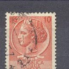 Sellos: ITALIA- 1953-54- YVERT TELLIER 649. Lote 22464373