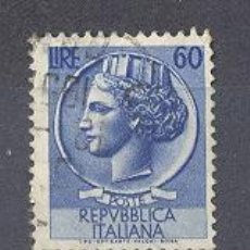 Sellos: ITALIA- 1953-54- YVERT TELLIER 654. Lote 22464437
