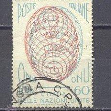 Sellos: ITALIA- 1956- YVERT TELLIER 735. Lote 22464515