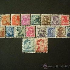 Sellos: ITALIA 1961 IVERT 826/44 *** SERIE BÁSICA - OBRAS DE MIGUEL ANGEL - PINTURA - ESCULTURA. Lote 24622612