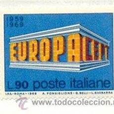 Sellos: 2-ITAL1035. SELLO NUEVO ITALIA. YVERT Nº 1035. EUROPA. Lote 25260721