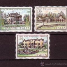 Sellos: ITALIA 1465/67*** - AÑO 1980 - ARQUITECTURA - CASAS DE ITALIA - OBRAS DEL ARQUITECTO PALLADIO . Lote 27183777