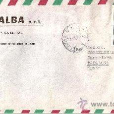 Sellos: SOBRE CIRCULADO DE ITALIA CON 1 SELLO Y MATASELLOS - 1977. Lote 27304838
