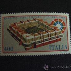 Sellos: ITALIA Nº YVERT 1610*** AÑO 1984. ELECCIONES AL PARLAMENTO EUROPEO. Lote 28094970