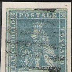 Sellos: 398-ITALIA SELLO CLASICO ANTIGUO ESTADO TOSCANA AÑO 1851 BUENOS MARGENES SIN DEFECTO N5,VALOR 60,00€. Lote 28162934