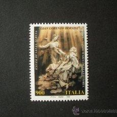 Sellos: ITALIA 1998 IVERT 2345 *** PATRIMONIO ARTISTICO Y CULTURAL - SANTA TERESA - ESCULTURA DE BERINI. Lote 295580378