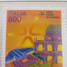 Sellos: SERIE SELLOS ITALIA FERIA DE VICENZA.FACIAL 800.AÑO 1998. Lote 32108714