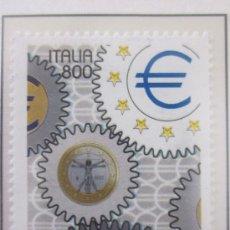 Sellos: SERIE SELLOS ITALIA DIA DE EUROPA.FACIAL 800.AÑO 1998. Lote 32108872