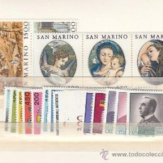 Sellos: SAN MARINO 1087/106 SIN CHARNELA, AÑO 1984 VALOR CAT 33.50 EUROS +. Lote 32575351
