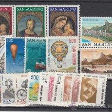 Sellos: SAN MARINO 1067/86 SIN CHARNELA, AÑO 1983 VALOR CAT 28.25 EUROS +. Lote 32575366
