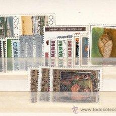 Sellos: SAN MARINO 1024/42 SIN CHARNELA, AÑO 1981 VALOR CAT 16.50 EUROS +. Lote 32575403