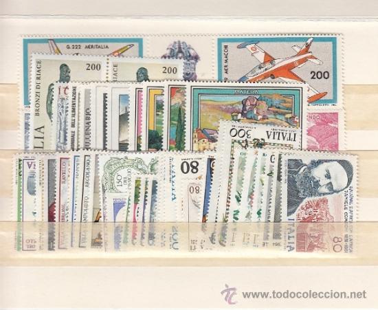 ITALIA 1474/518 SIN CHARNELA, AÑO 1981 VALOR CAT 39.65 EUROS + (Sellos - Extranjero - Europa - Italia)