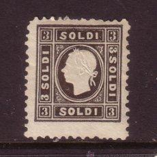 Sellos: ITALIA LOMBARDO VENETO 6A* AÑO 1858 - FRANCISCO JOSE I. Lote 32870122