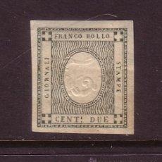 Sellos: ITALIA CERDEÑA 17B* AÑO 1861 - CIFRAS - CFRAS INVERTIDAS. Lote 32870248