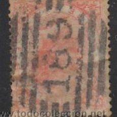 Sellos: ITALIA IVERT Nº 21 (AÑO 1863), VICTOR MANUEL II, USADO CON MATASELLOS CIFRAS . Lote 35014688