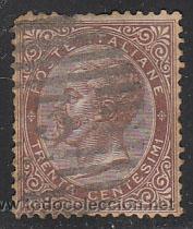ITALIA IVERT Nº 18 (AÑO 1863), VICTOR MANUEL II, USADO (Sellos - Extranjero - Europa - Italia)