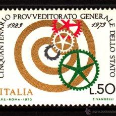Sellos: ITALIA 1143** - AÑO 1973 - 50º ANIVERSARIO DE LOS SERVICIOS DE INTENDENCIA DEL ESTADO. Lote 40362725
