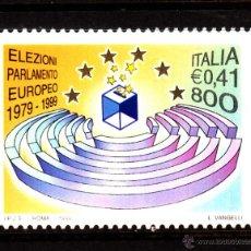 Sellos: ITALIA 2372** - AÑO 1999 - 20º ANIVERSARIO DE LAS PRIMERAS ELECCIONES AL PARLAMENTO EUROPEO. Lote 40466182
