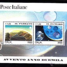 Sellos: ITALIA HB 22** - AÑO 2000 - NUEVO MILENIO - EL PASADO - EL FUTURO. Lote 24344336