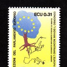 Sellos: ITALIA 1815** - AÑO 1989 - 3º ELECCIONES AL PARLAMENTO EUROPEO. Lote 45007414