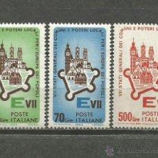 Sellos: ITALIA YVERT NUM. 909/11 ** SERIE COMPLETA SIN FIJASELLOS. Lote 46115411