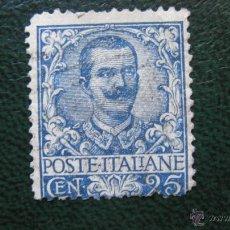 Sellos: ITALIA 1901, VICTOR EMMANUEL III, YVERT 69. Lote 46233037