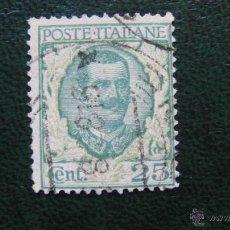 Sellos: ITALIA 1925, VICTOR EMMANUEL III, YVERT 180. Lote 46234422