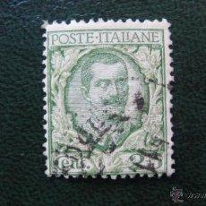 Sellos: ITALIA 1925, VICTOR EMMANUEL III, YVERT 180A. Lote 46234450