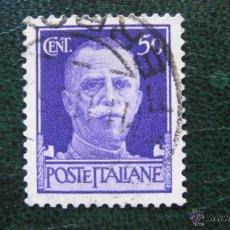 Sellos: ITALIA 1929, VICTOR EMMANUEL III, YVERT 232. Lote 46365136