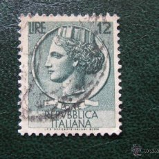 Sellos: ITALIA 1953, YVERT 650. Lote 46495634