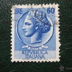 Sellos: ITALIA 1953, YVERT 654. Lote 46495717