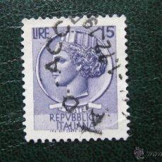 Sellos: ITALIA 1955, YVERT 714. Lote 46508532