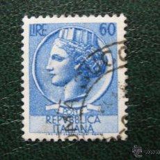 Sellos: ITALIA 1955, YVERT 718. Lote 46508791