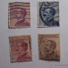 Sellos: LOTE DE 4 SELLOS CLASICOS ITALIA (POTE ITALIANE) 20 - 25 - 40- 60 CENT.. Lote 46624748