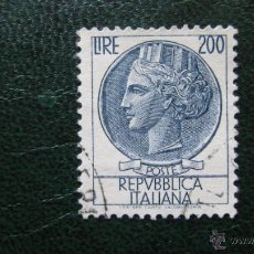 Sellos: ITALIA 1959, YVERT 803. Lote 46659073