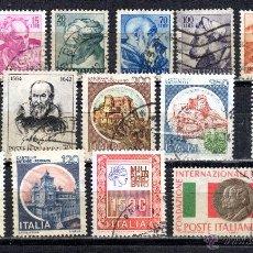 Sellos: LOTE DE SELLOS USADOS DE ITALIA. Lote 46742706