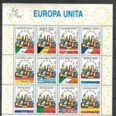 Sellos: ITALIA YVERT NUM. 1987/98 ** SERIE COMPLETA SIN FIJASELLOS . Lote 47494447