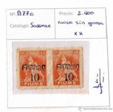 Sellos: 1919 - FIUME ITALIA. Lote 48922392
