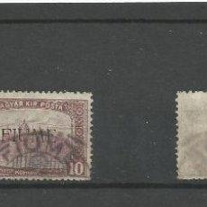 Sellos: 1919 - FIUME, ITALIA - SELLO DE HUNGRIA SOBRECARGADO. Lote 49621541