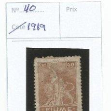 Sellos: 1919 - FIUME - ITALIA. Lote 50145420
