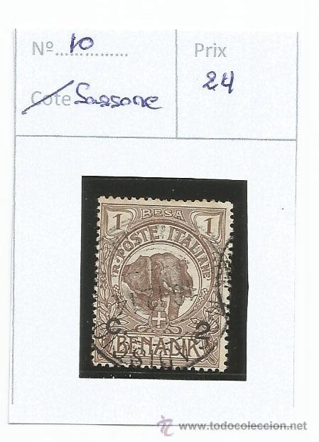 1906-07 - SOMALIA - ITALIA (Sellos - Extranjero - Europa - Italia)