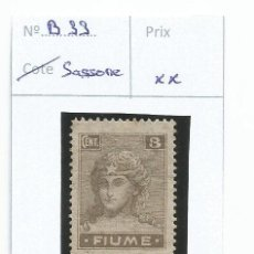 Sellos: 1919 - FIUME - ITALIA. Lote 50218004