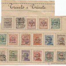 Sellos: 1919 - TRENTO E TRIESTE - ITALIA. Lote 50218231