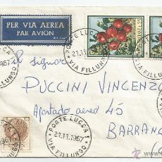 Sellos: 1967 - CARTA VOLADA - ITALIA. Lote 50661359